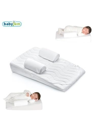 Baby Jem Babyjem Bebek Reflu Yastığı Beyaz